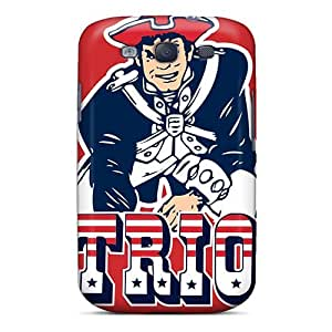 High Grade BYBUY Flexible Tpu Case For Galaxy S3 - New England Patriots