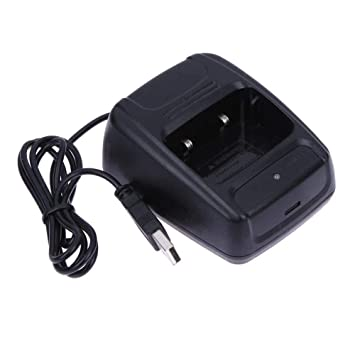 BAQI - Cargador de batería USB para Baofeng BF 888S Retevis ...