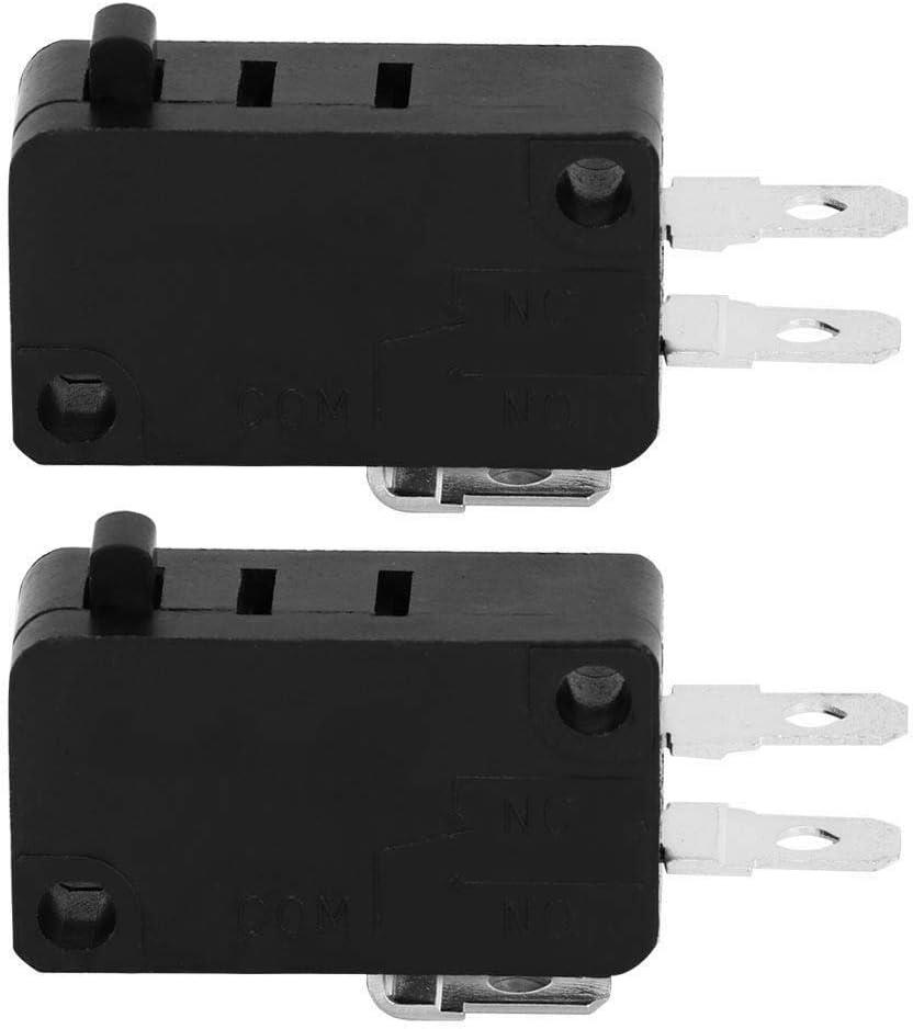 BYARSS 5E4 tiempos durable Interruptor KW3AT-16 Microondas puerta del horno micro normalmente cerrado