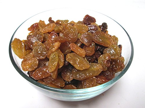 Golden Jumbo Raisins 3 lb bulk bag. Full of Iron, Calcium & Antioxidants