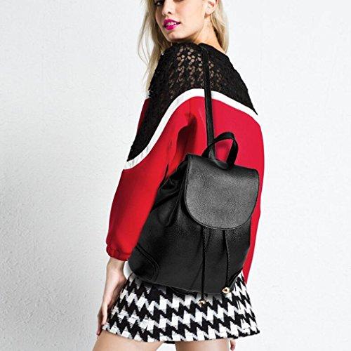 27 tamaño Wang Mochila Bolsos Red Bolsa 13 Femenina color Moda Casual 31cm Joker Estudiante Negro Elegante zzvqwrf