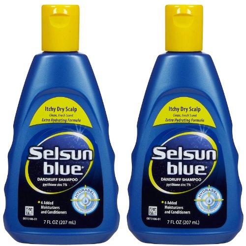 Selsun Blue Itchy Dry Scalp Dandruff Shampoo - 7 oz - 2 pk