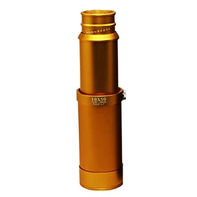 10X50 étirement, tout-optique, haute puissance HD télescope