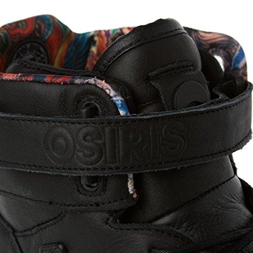 Osiris Rhyme-Remix 602093, Scarpe da Skateboard, Unisex adulto Nero