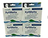 XyliMelts Discs for Dry Mouth, Mint Free, 40 ea - 4pc