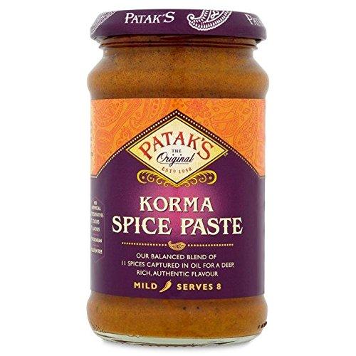 Patak's Korma Spice Paste - 290g (0.64lbs)