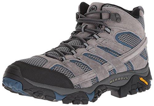 Merrell Men's Moab 2 MID Vent Sneaker, Castle/Wing, 10 M US