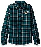Jacksonville Jaguars 2016 Wordmark Basic Flannel Shirt - Womens Small