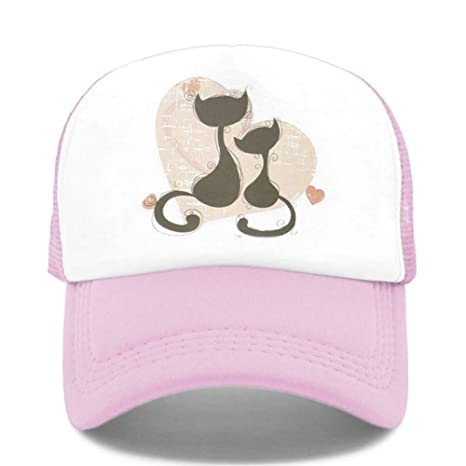 WDBUN Gorra de Beisbol The Cat Lovers Women Trucker Hat Hip Hop ...