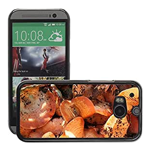 Hot Style Cell Phone PC Hard Case Cover // M00307787 Mushrooms Mediterranean Food Spanish // HTC One M8