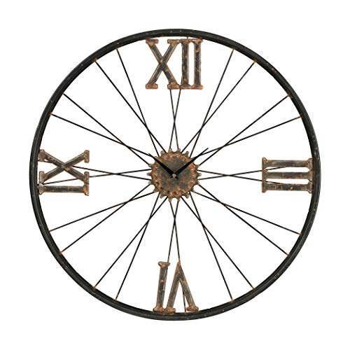 Sterling Iron Wall Clock