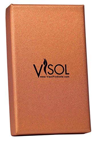 Visol Zidane Black Matte Cigar Lighter with Built-in Cigar Punch by Visol (Image #3)