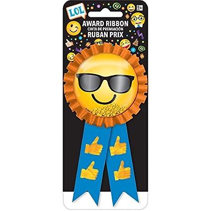 Amazon.com: Amscan 211681 Confetti Pouch Award Ribbon   LOL ...