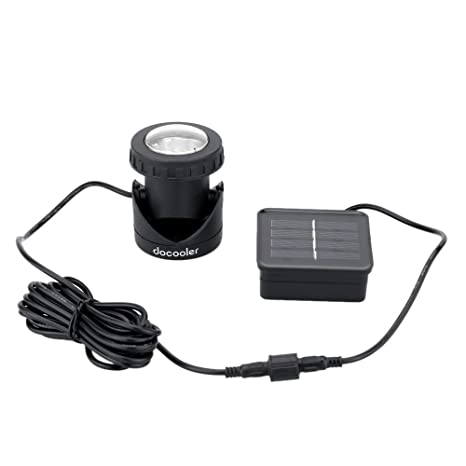 Powered Available Spotlight Waterproof 6 Outdoor Solar Led Use For Pool Lamp Leds CWxoerdB