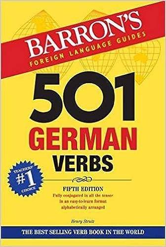501 German Verbs (Barron's Foreign Language Guides) Book Pdf 51FCPr422jL._SX334_BO1,204,203,200_
