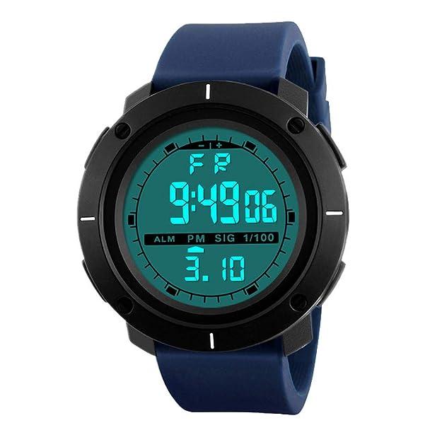 Amazon.com: XGUMAOI Mens Digital LED Analog Electronic Watches Quartz Alarm Date Sports Wrist Watch (A): Jewelry