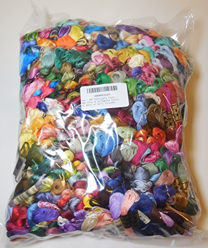 DMC Embroidery Floss - 488 Solid & Variegated Colors (1 Skein of Each) Includes Brand New Colors by DMC