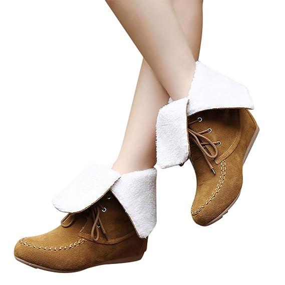 TianWlio Stiefel Frauen Herbst Winter Schuhe Stiefeletten