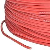 cable de silicona AWG 22 0.34 mm2 altamente flexible rojo super suave partCore