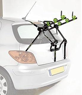 """Green Valley 160625 Adventure - Soporte de bicicletas para maletero de coche (3 bicicletas) """"descontinuado por el fabricante"""": Amazon.es: Coche y moto"""