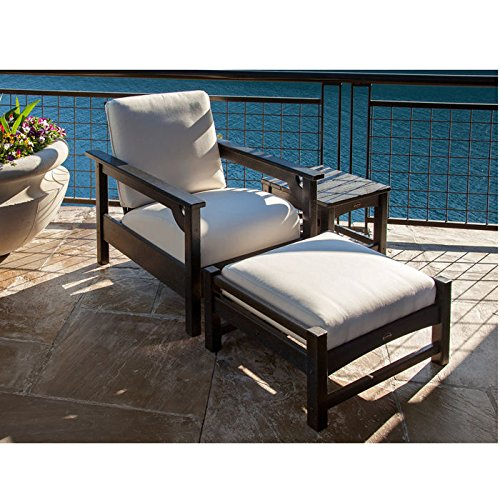 Buy poly-wood club 3-piece deep seating set