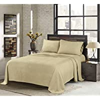 Sunbeam Super Soft Heavyweight Twin 3-Pc. Fleece Sheet Set