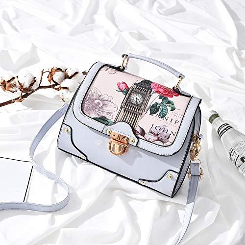 Gris Rosado Fashion Bag Joker Messenger Bolso Xmy Bandolera Lady Claro 6wHqPn1px