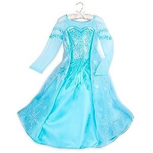 Disfraz de Elsa de Disney para niños – Frozen, 3, Azul