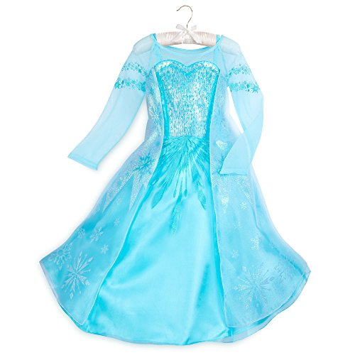 Disney Elsa Costume for Kids - Frozen Size 5/6 Blue