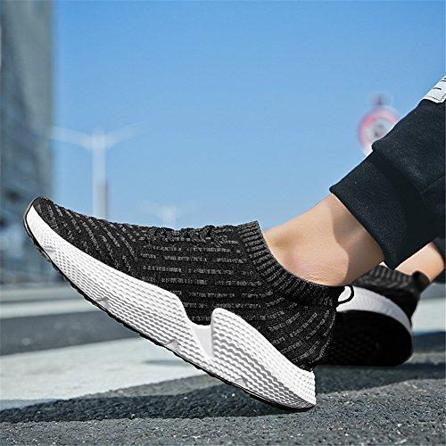 Sarpe Unisex Nero Outdoor Basket Running Sneakers Sportive Da Donna Sport Ginnastica Uomo Fexkean Basse Adulto xwP167EqnH