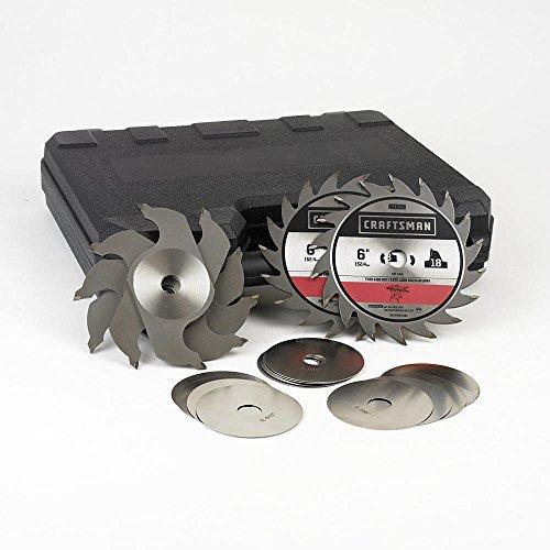 6 Dado - craftsman 6-in Stacked Dado Set