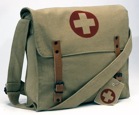 Rothco Vintage Canvas Medic Bag - Khaki
