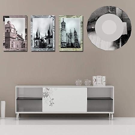 Yb 3 Ensembles Classique Architecture Peinture Art Pas Cher