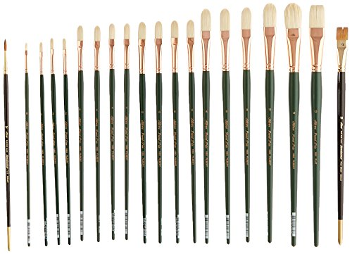 Silver Brush EK-220 Everett Raymond Kinstler Portrait Brush Set, 20 Per Pack by Silver Brush Limited
