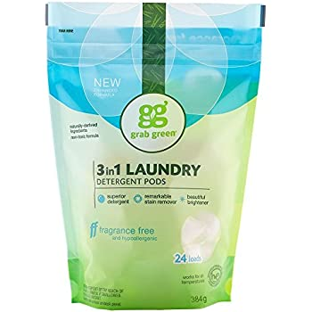 Amazon Com Grab Green Natural 3 In 1 Laundry Detergent