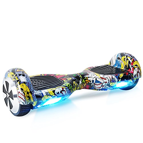BEBK Hoverboard, Two Wheel Self Balancing Scooter 6.5'...