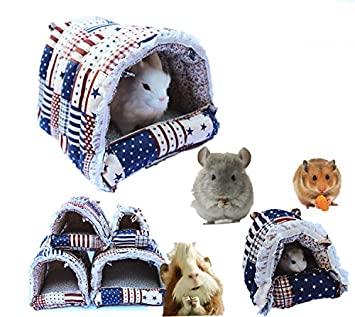 Amazon com : Mkono Cozy Warm Hamster Hammock Hanging Bed