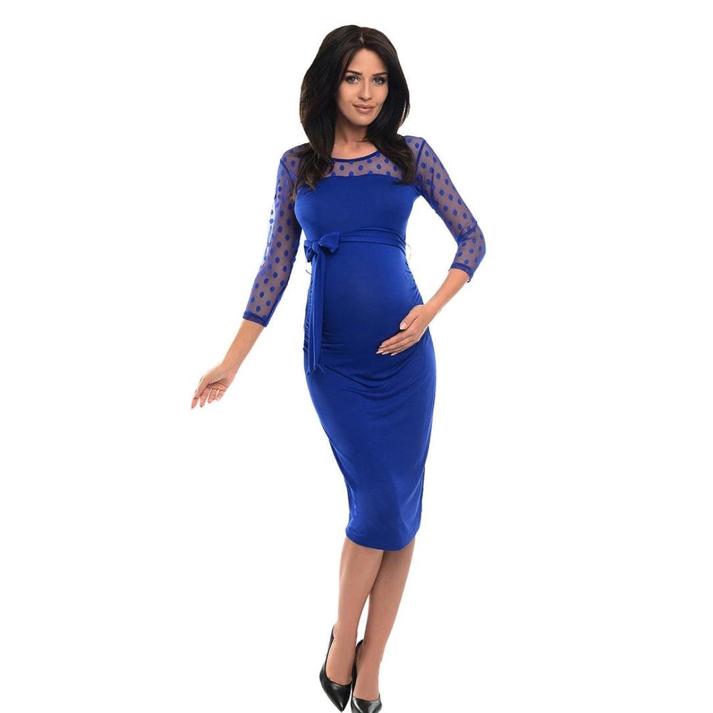 Kleider Damen Dasongff Damen Minikleider Pregnancy Bleistiftkleid ...