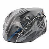 WOLFBIKE Helmet Rain Cover Windproof Dust-proof Waterproof (Black) For Sale