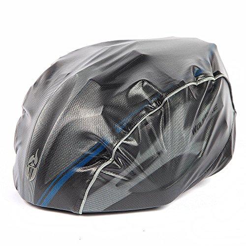 WOLFBIKE Helmet Rain Cover Windproof Dust-proof Waterproof (Black)