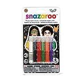Snazaroo Face Paint Sticks Halloween, Set of 6