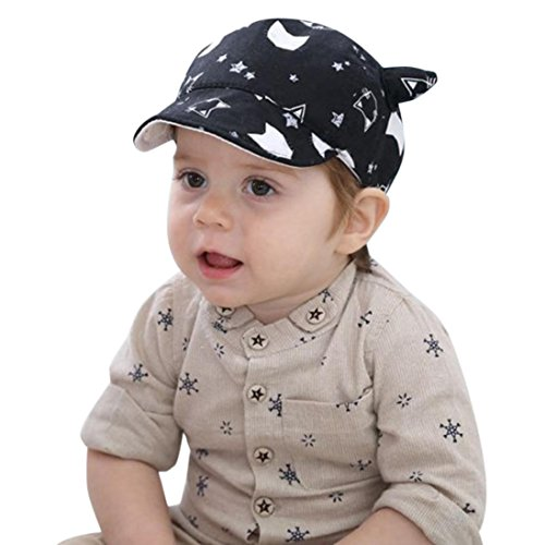 da6e46c1877 Elevin(TM) Toddler Baby Sun Hat Boy Girl Kid Newborn Summer Mesh Peaked  Baseball