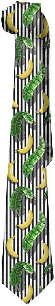 WILHJGH Hojas de plátano pintadas a mano para hombre
