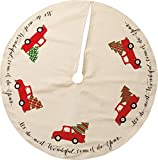 Primitives By Kathy 36 Inches Diameter Cotton Tree Skirt Truck Decorative Ornaments