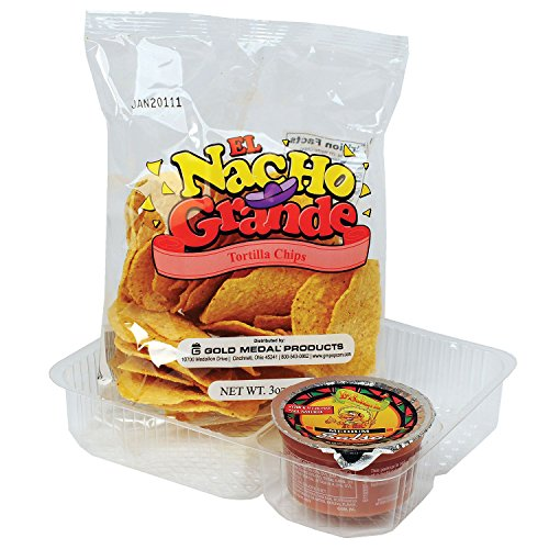 Product of Gold Medal El Grande Nacho Chips 3 oz. (48 ct.) - Chips [Bulk...