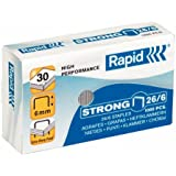 Rapid Staples, Pack of 1000 26/6 mm