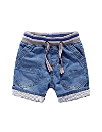 Little Boys' Rugged Pull On Jean Shorts