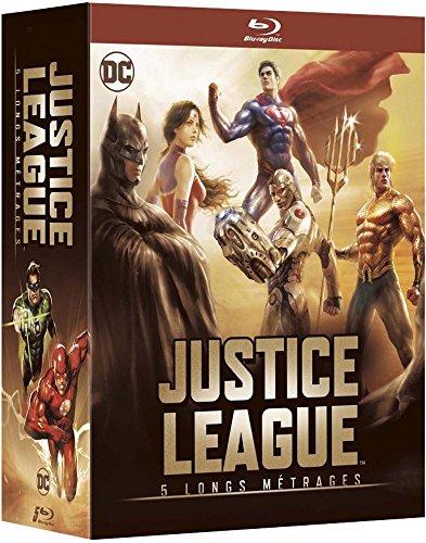 Justice League - 5 longs métrages : Le paradoxe Flashpoint + ...