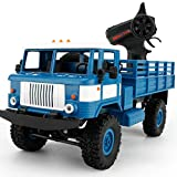 RC Car,WPL B-24 1:16 4WD RC Military Truck Wireless Remote Control Car Toy By Dacawin (Blue)