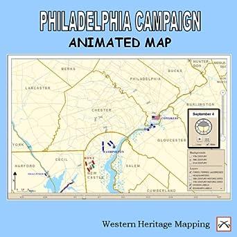 Amazon com: Philadelphia Campaign Animated Map v1 0